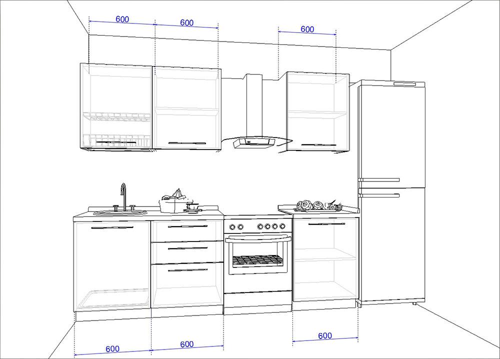 Кухонный гарнитур AMERICANO