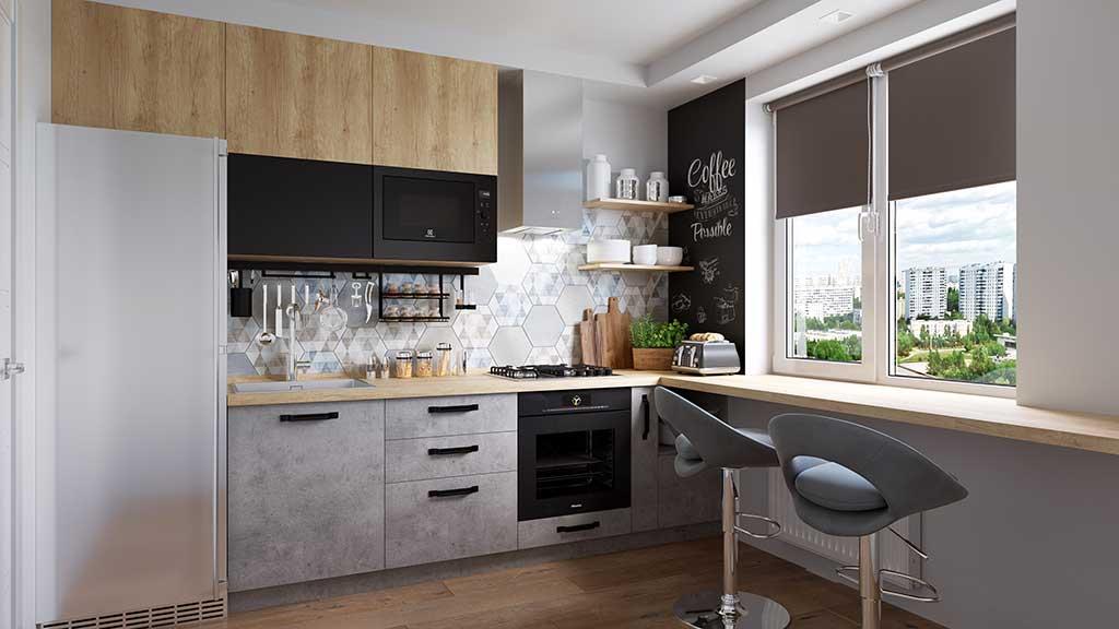 Кухонный гарнитур JERRY