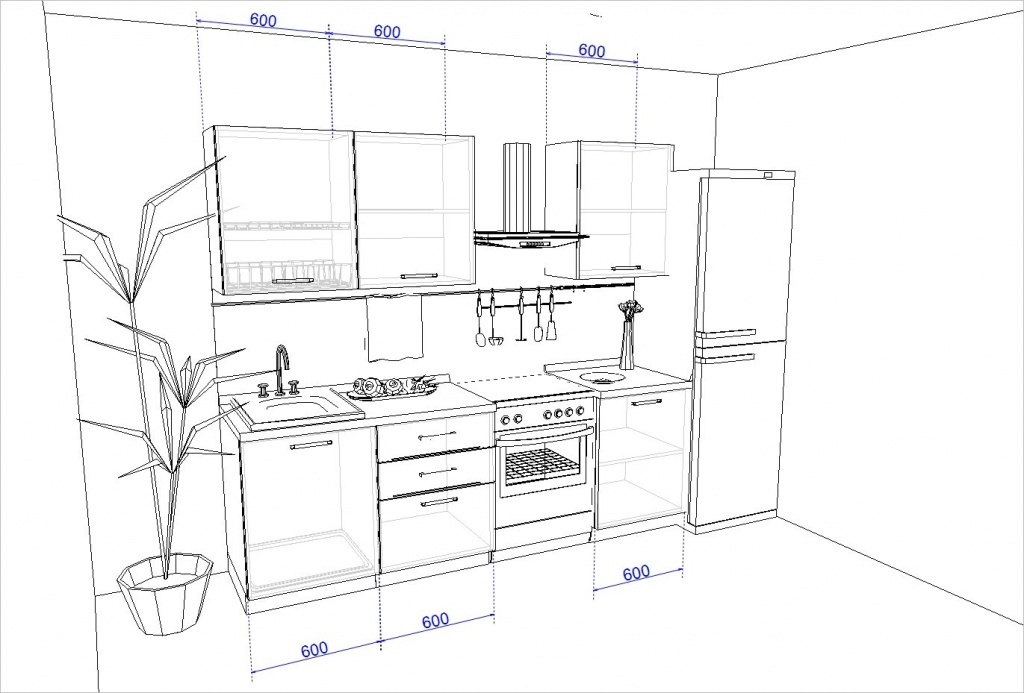 Кухонный гарнитур RICCI