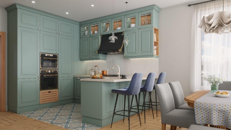 Кухонный гарнитур Shabby Wood